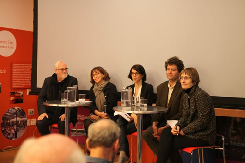 <p>Gezi Paneli, Center for  Architecture, New York, 14 Kasım 2013 (AnthonyVidler, ElizabethAngell, Edhem  Eldem ve Zeynep Çelik ile)</p>