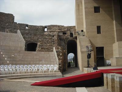 <p><strong>10.</strong> Resim 4 ile aynı  açıdan Grassi-Portaceli projesine göre yapılan uygulama, 2009.<br />   Fotoğraf:  Enrique Íñiguez Rodríguez</p>