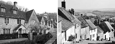 <p><strong>10.</strong> İngiliz kırsal ve geleneksel sıra ev  örnekleri</p>