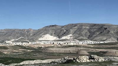 <p><strong>10.</strong> Hasankeyf yeni yerleşimi, 2019<br />   Kaynak: Pınar Aykaç</p>