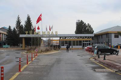 <p><strong>10. </strong>TÜDEMSAŞ Kampüsü Nizamiye Kapısı, 2019 <br />   Kaynak: Gülhayat  Ağraz arşivi</p>