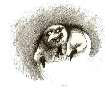 <p><strong>10. </strong>2009 yılında MOMA'da  gerçekleştirilen Tim Burton sergisinden Burton'ın Edward ve Penguen karakteri  çizimleri <br />(Kaynak: URL4)</p>