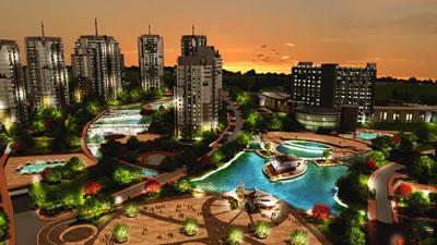 TOKİ'nin İstanbul'da gelir paylaşım modeliyle ürettiği bir örnek: Avrupa Konutları Atakent 3 Projesi (Kaynak: www.avrupakonutları.com)