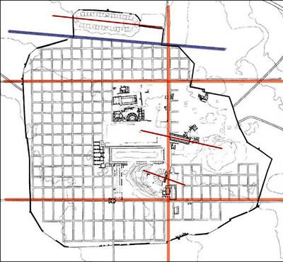 <p><strong>11. </strong>Kent Planı, Grid sisteme  sadece dört yapı uymamaktadır. Bunlar, Stadyum, Aphrodit Tapınağı, Sebasteion Tapınağı  ve Tiyatrodur.</p>