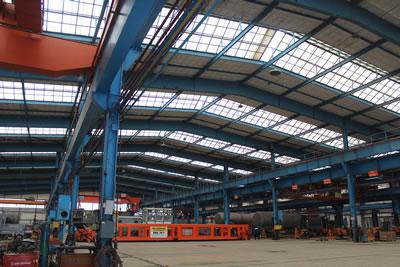 <p><strong>11. </strong>Vagon Onarım Fabrikası iç mekânından görüntü, 2019 <br />   Kaynak: Gülhayat Ağraz  arşivi</p>