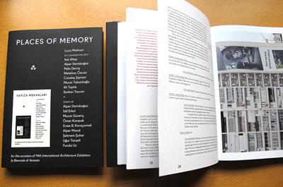 <p>2014, <strong>Places  of Memory / Hafıza Mekanları</strong>, Pelin Derviş (ed.), İKSV, İstanbul.</p>