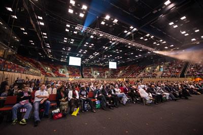 <p>Kongre oturumlarından<strong></strong><br />Fotoğraf: Luca Barausse  Photography</p>