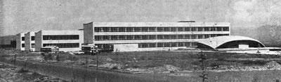 <p><strong>1.</strong> Atatürk Üniversitesi  Kampüsü, Erzurum<br />Kaynak: 1966.</p>