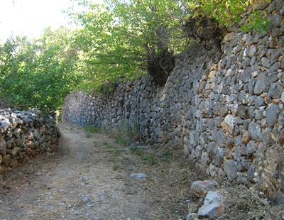 <p> <strong>11.</strong> Yol-Bahçe Duvarları, Kemaliye<br />Fotoğraf: E. Korkmaz</p>