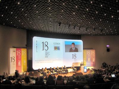 <p><strong>1.</strong> 9-14  Kasım 2014&rsquo;te Floransa&rsquo;da gerçekleştirilen ICOMOS Genel Kurulu</p>