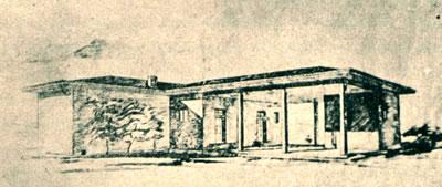<p><strong>1. </strong>Anadolu için bir  sınıflı halk mektebi.<br />  Kaynak: Egli, 1930, &ldquo;Mimari  Muhit&rdquo;, <em>Türk Yurdu</em>, cilt:30,  sayı:224, s.32.</p>