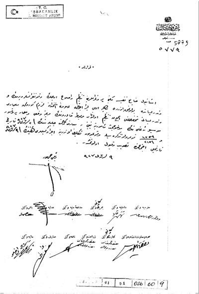 <p><strong>1. </strong>Egli&rsquo;nin Güzel Sanatlar  Okulu&rsquo;na tayinine ilişkin belge. Belgenin  Atalay Franck, 2004 kaynağından ulaşılabilen çevirisi: &ldquo;Kabine, Milli Eğitim  Bakanlığının 2 Kasım 1927 tarihli 1359/3154 sayılı yazılı önergesine bağlı  olarak, Profesör Mimar Ernst Egli&rsquo;nin İstanbul&rsquo;daki Güzel Sanatlar  Akademisi&rsquo;nin eğitim programını yeniden düzenlemesi, geliştirmesi ve bu kurumda  ders vermesi için aylık 50 Lira maaşla görevlendirilmesi, 9 Kasım 1927 tarihli  oturumunda uygun bulmuş ve kabul etmiştir.&rdquo; <br />Kaynak: <strong>TC Başbakanlık  Devlet Arşivleri Genel Müdürlüğü Cumhuriyet Arşivi Katalogları</strong>, tarih:09.11.1927, sayı:5779, fon kodu:30..18.1.1,  yer no:26.60..9. </p>