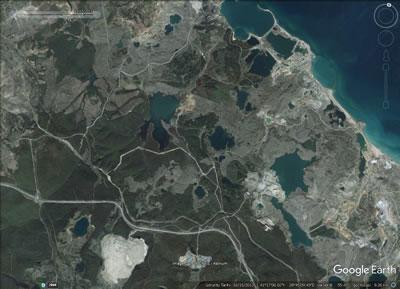 <p><strong>1. </strong>İstanbul 3. Havaalanı projesinin olduğu alanın hava fotoğrafı, 15.10.2013<br />Kaynak: Google Earth</p>