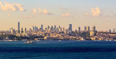 <p><strong>1. </strong>İstanbul silueti<br />Kaynak: tr.wikipedia.org/wiki/T%C3%BCrkiye%27deki_en_y%C3%BCksek_binalar_listesi [Erişim: 10.10.2016]