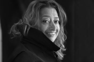 <p><strong>1.</strong> Zaha Hadid (d. 31  Ekim 1950, Bağdat-ö.31 Mart 2016, Miami)<br />Fotoğraf: Brigitte Lacombe</p>