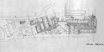 <p><strong>11a.</strong> İMÇ, 1. ve 2. blokların kat planları<br />  Kaynak: <strong>İstanbul Manifaturacılar ve Kumaşçılar Çarşısı</strong>, 1968</p>