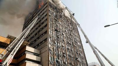 <p><strong>1. </strong>Tarhan  Plasco binasında söndürme ve soğutma çalışmaları, 19 Ocak 2017</p>