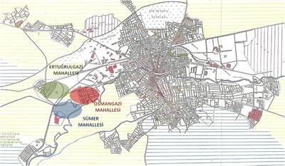 <p><strong>1.</strong> 1950-1960 arası dönemde Eskişehir<br />  Kaynak: Ertin, 1994.</p>