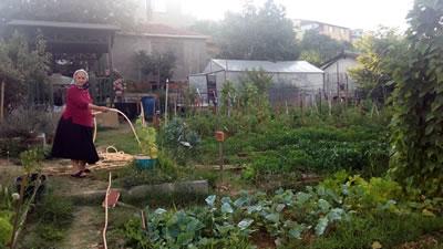 <p><strong>12.</strong> Mahallenin ortak kullanımına dönüştürülen halk bahçesi</p>