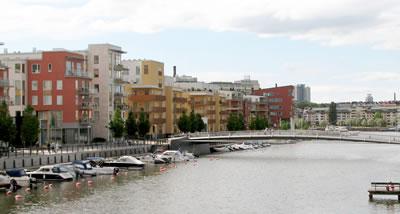 12. Hammarby Sjöstad eko-yerleşimi, Stockholm (Kaynak: Özge Ercoşkun, 2007)
