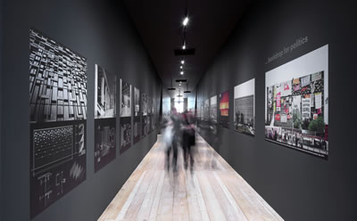 Pelin Derviş & Murat Tabanlıoğlu, Reflecting Modernity: Atatürk Cultural Center, 2014 Fotoğraf: Thomas Spier