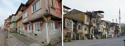 <p><strong>1.</strong> Karamürsel Ereğli,  Hürriyet Caddesi üzerinde özgün sivil mimari doku <br />  Kaynak:  Ahmet Akgüner / KOÜ BAP, 2015 proje arşivi</p>