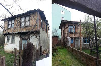 <p><strong>12.</strong>KAİP kapsamında yol düzenlemesi için yıkılıp  yeniden yapılarak, konumunun değiştirilmesi önerilen yapılardan örnekler <br />  Sol: Kaynak:  Nurdan Kuban / KOÜ BAP, 2015 proje arşivi<br />  Sağ: Kaynak:  Elif Aydın / KOÜ BAP, 2015 proje arşivi<strong> </strong>
