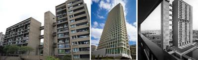<p><strong>1. </strong>1960 lı yıllarda  Londra da inşa edilen bazı betonarme yapılar: Carradale House, Center Point  London, Balfron Tower<br />Kaynak: www.brutalism.online/brutalist-buildings/13-uk [Erişim: 14.7.2017]