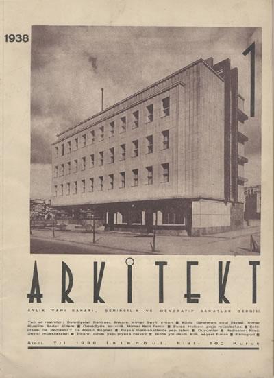 <p><strong>1.  Arkitekt</strong>, 1938, sayı:1938  / 1 (85).</p>