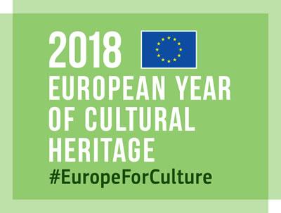 <p><strong>1</strong><strong>.</strong> 2018 Avrupa Kültürel Miras Yılı Logosu</p>