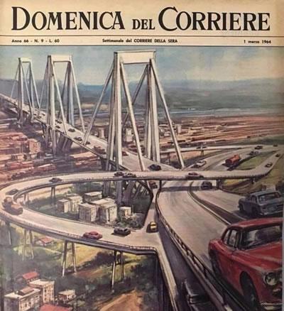 <p><strong>1.</strong> Domenica del Corriere, 1 Mart 1964  Kapağı</p>