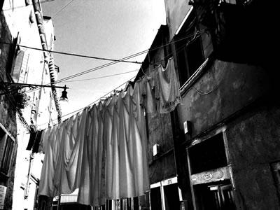 <p><strong>1.</strong> Venedikte bir ara  sokak</p>