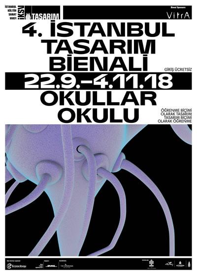 <p><strong>1.</strong> 4. İstanbul  Tasarım Bienali afişi</p>