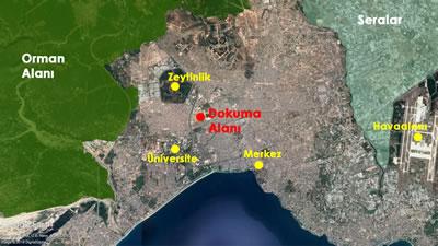 <p><strong>1. </strong>Antalya geneli ve Dokuma alanı</p>