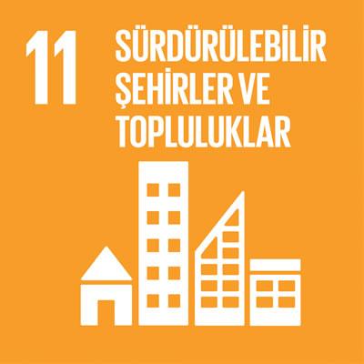 <p><strong>1.</strong> Birleşmiş  Milletlerin Sürdürülebilir Şehirler ve Topluluklar başlığı altındaki 11.  Sürdürülebilir Kalkınma Amacı şehirlerde yaşayan 10 kişiden 9 unun soluduğu  havanın Dünya Sağlık Örgütü standartlarına uymadığını işaret ederken bizlere şu  soruyu sorduruyor: Biz kentlerde yaş(ayam)ıyoruz muyuz?<br /> Kaynak: BM.</p>