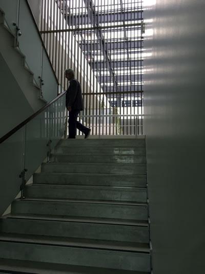 <p><strong>13b<p><strong>12. </strong>Atrium, protokol  merdiven ve asansörü<br />   Kaynak: Burak Altınışık<strong></strong></p>. </strong>Ofis koridoru ve  merdiveni<br />   Kaynak: Burak Altınışık<strong></strong></p>