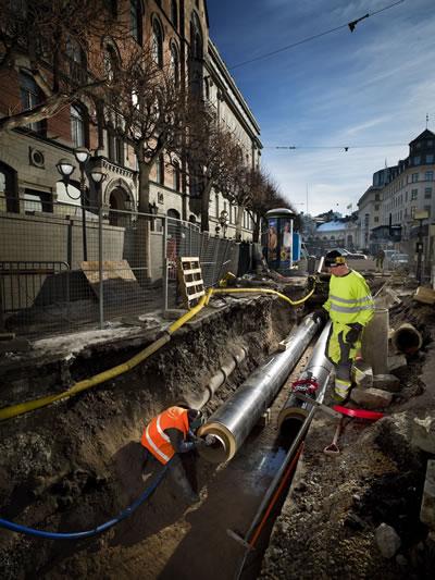 1. Merkezî ısıtma sistemi, Stockholm (Kaynak: Svartpunkt AB/M Glans J Nemie, 2010)