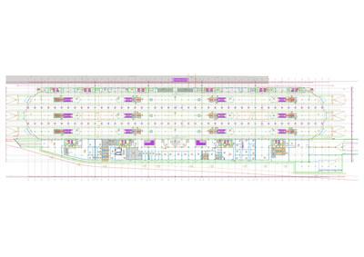<p><strong>14a.</strong> Ankara YHT Garı 1.bodrum kat planı ve  kesitleri <br /> Kaynak: TCDD, 2021</p>