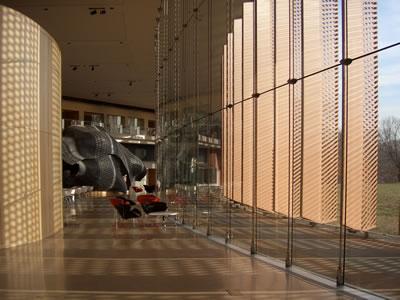 15. Carl Icahn Laboratuarı, Rafael Vinoly, New Jersey, 2003. (Kaynak: URL11)