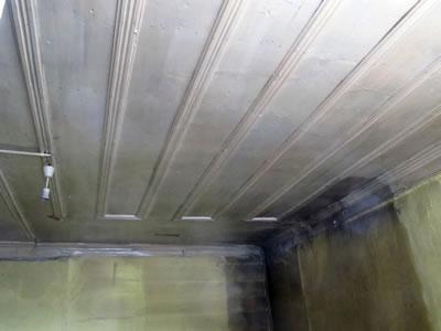 <p><strong>15.</strong> D yapısı, ahşap pasalı tavanı, 14.02.2013.</p>