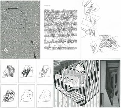 """<p><strong>15. </strong>Simone Pizzagalli nin  Delft Teknik Üniversitesi Mimarlık Bölümü nde """"Border Conditions"""" stüdyo  çalışmaları kapsamında yaptığı, Londra da tren yolculuğu boyunca algılanan  kentsel boşlukların haritalama çalışması ile deneyim olarak yazıma (sözel  anlatım yanında mekânsal olarak da) aktarılıp bu mekânsallığın tasarımın temel  unsuru olarak tekrar kente taşınması ile kentteki boş alanlardan birinde  önerilen hapishane projesinin oluşumunun aşamaları.<br />   Kaynak: Schoonderbeek,  Marc (ed.), 2013, <strong>Spaces, Poetics and  Voids</strong>, Architectura & Natura Press, Amsterdam, ss. 66, 76, 87, 108, 112,  128.</p>"""