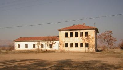 <p><strong>15a.</strong> Eski idari bina ve planı</p>