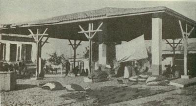 <p><strong>16.</strong> Trakya'da bir örnek köy zahire loncası, 1930'ların sonu<br />  (Kaynak: <strong>6. İzmir Fuarı Trakya Broşürü</strong>, [40])</p>