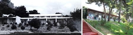 Resim 16. Çanakkale Tusan Motel, konaklama birimleri; sol 1978, sağ 2010 (Kaynak: Yılmaz ve Tuna Ultav Arşivi)