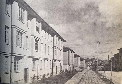 1. Saraçoğlu Mahallesi'nden sokak görünümü (Kaynak: Metin Sözen arşivi)