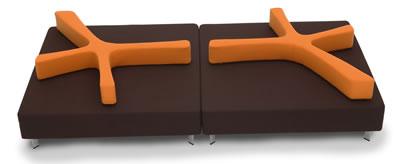 """<p><strong>1.</strong> Nurus için Ece-Oğuz Yalım tarafından tasarlanan  """"4U Oturma Birimi"""", 2009 yılında Red Dot Tasarım Ödülü'nü kazandı.<br />(Kaynak: Red Dot Tasarım Ödülleri  Online Arşivi)</p>"""