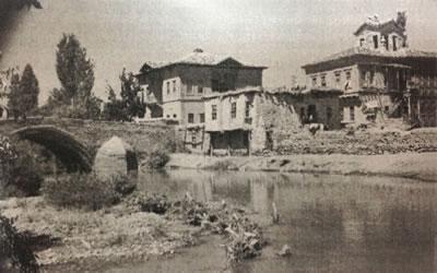 20. yüzyıl başları İbrahim Kaya Konağı (Kaynak: Aksaray Belediyesi Arşivi)