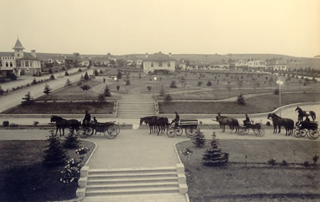 17. Cumhuriyet'in ilk yıllarında Yerleşke Merkezi