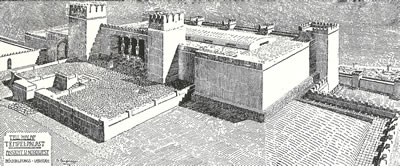 <p><strong>17. </strong>Bit-Hilani  Biçimli Yapı Girişi (Tell Halaf&rsquo;ın Batı Alanındaki &ldquo;Saray-Tapınak&rdquo;)<br />Kaynak: Von Oppenheim, 1950,  s.23.</p>