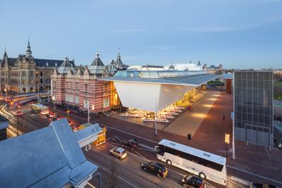 <p><strong>17.</strong> Müzeye yukarıdan bakış<br />   Fotoğraf: Jannes Linders,  Kaynak: Benthem Crouwel Architects</p>
